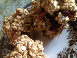 Trail Mix Popcorn Balls- The Healthy Way!