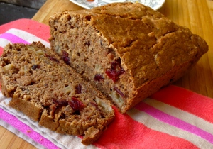 Cranberry Apple Bread