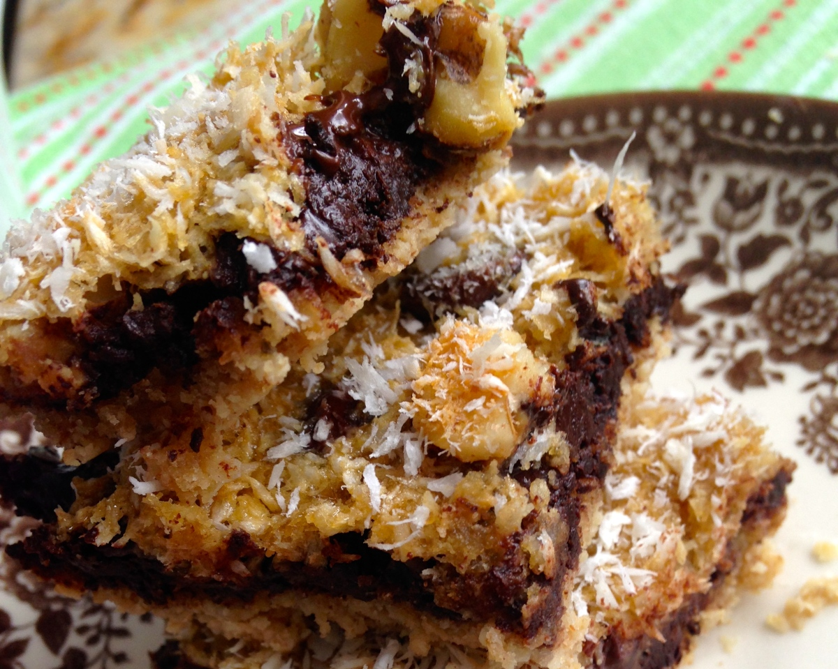 Secretly Healthy Seven Layer Bars