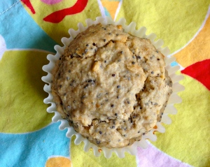 Fresh Spring Lemon Poppyseed Muffins
