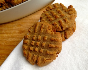 Five Ingredient Peanut Butter Cookies