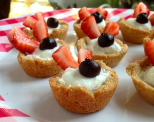 Skinny Mini Fruit Tarts
