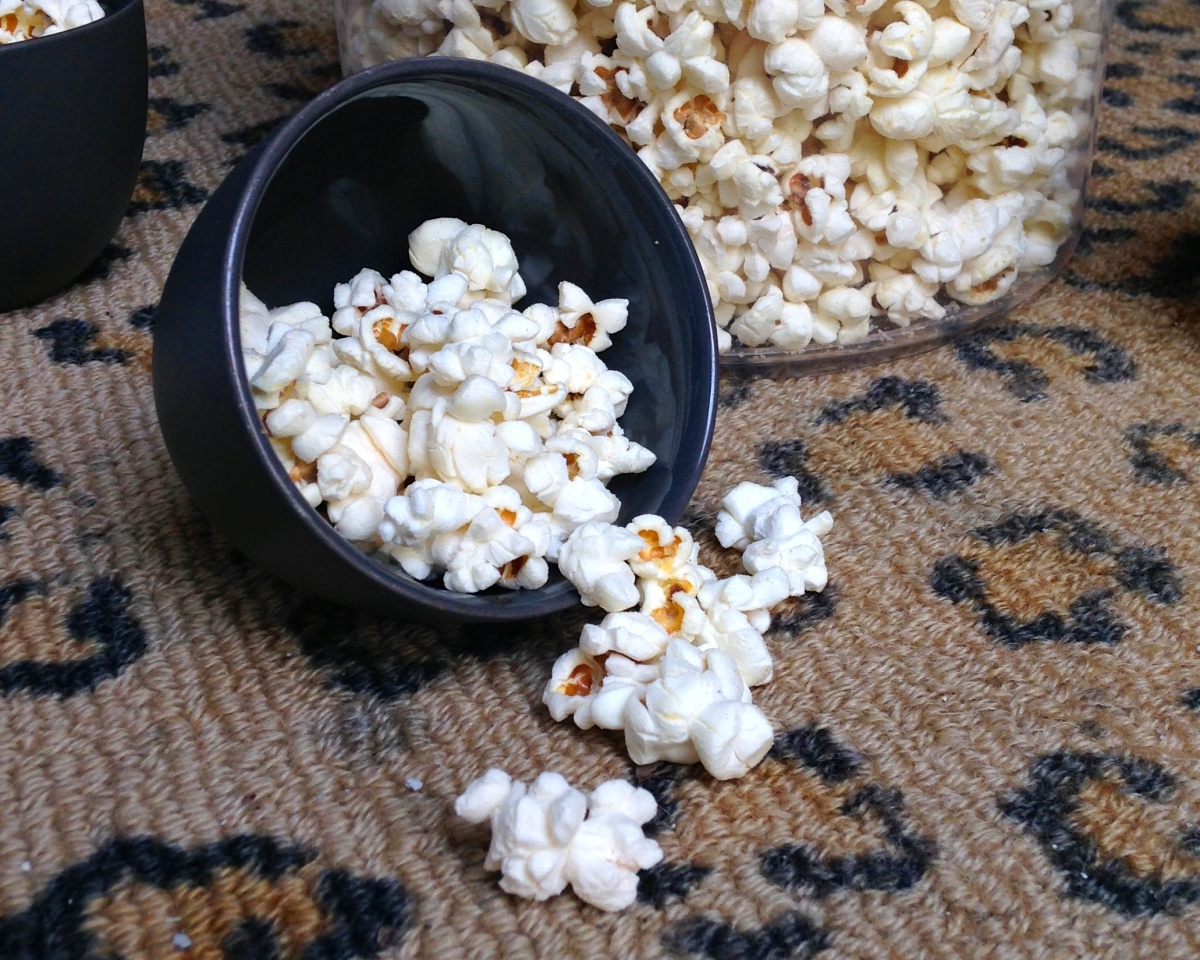 Guilt-Free Sweet & Salty Kettle Corn
