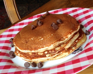 High Protein Buttermilk Pancakes