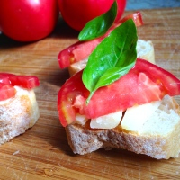 Caprese Open Faced Sandwiches