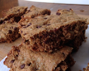 "Chocolate Chip ""Chewy"" Bars"