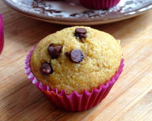 Healthy Honey Cornbread Muffins