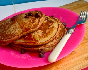 Hearty Banana Bread Pancakes