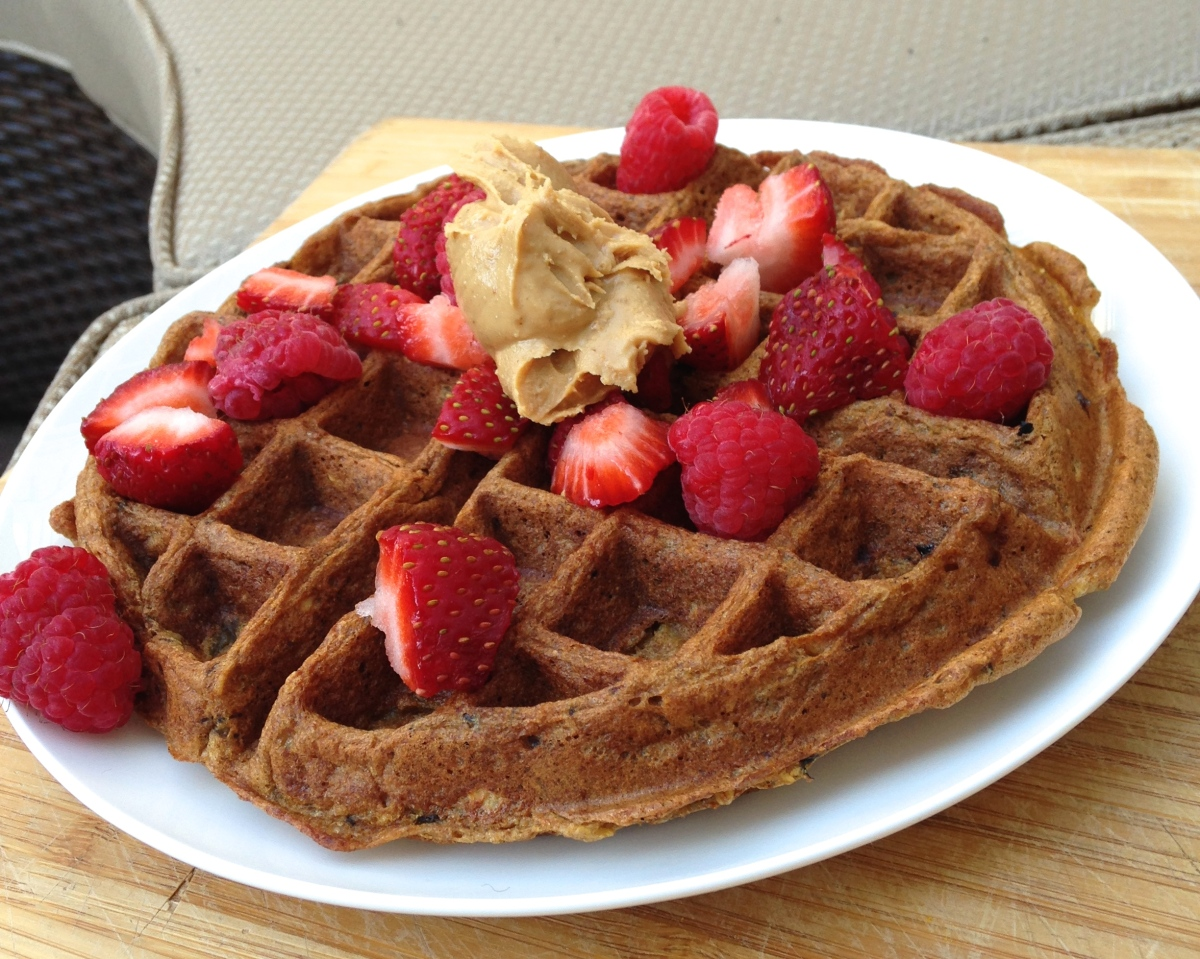Whole Wheat Waffle for One
