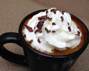 Dairy & Soy-Free Pumpkin Spice Latte