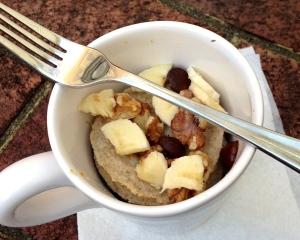 Banana Nut Muffin in a Mug