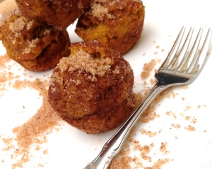 Snickerdoodle Pumpkin Donut Holes