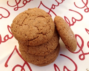 Brown Sugar Gingersnaps