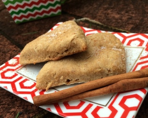 Whole Wheat Cinnamon Scones
