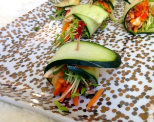 Easiest Healthy Sushi with a Mango-Ginger Twist