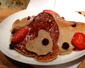 Sweetheart Valentine's Day Pancakes