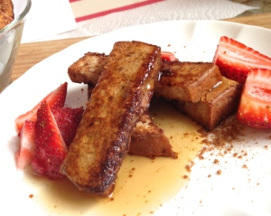 Cinnamon-Coconut Sugar French Toast Sticks