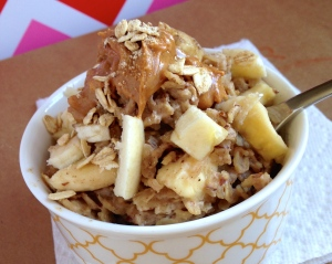 Peanut Butter Protein Oatmeal to Go