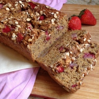 Hearty Strawberry Maple Bread