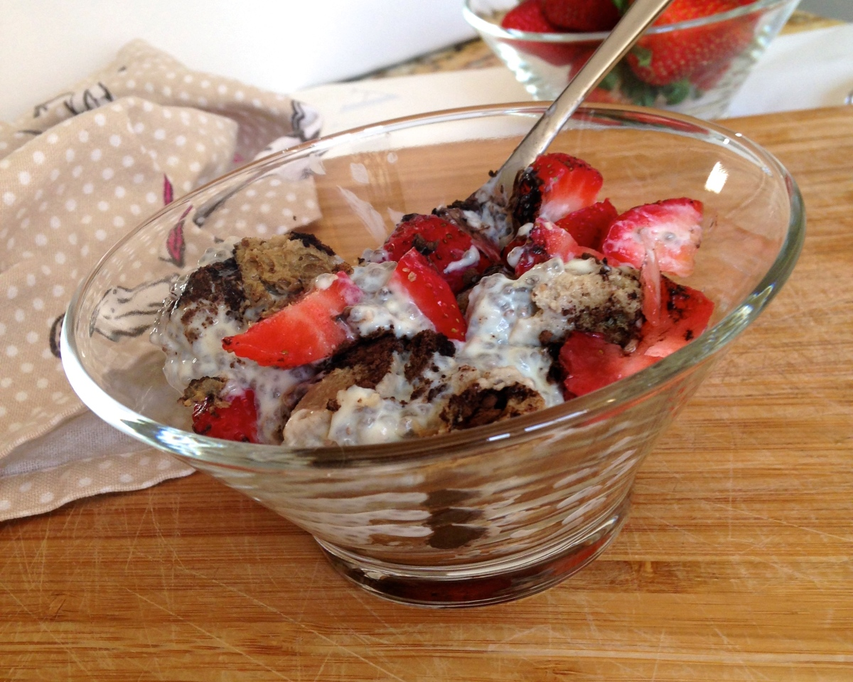 Tiramisu Chia Seed Pudding