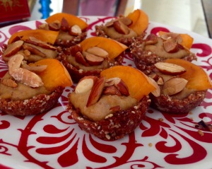Sweet Almond Apricot Tart