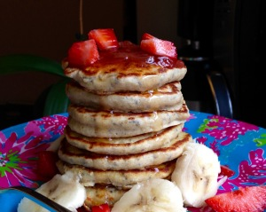 Fluffy Chia Seed Pancakes