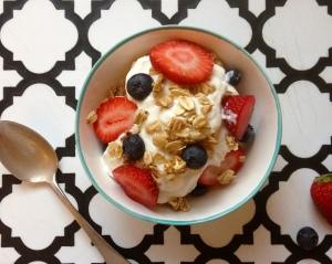 Greek Yogurt Fruit Parfait