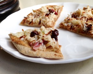 Sweet Breakfast Pizza