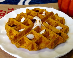 Pumpkin Waffle for One
