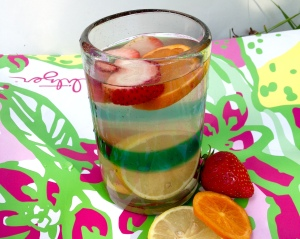 Super Refreshing Fruit-Infused Coconut Water