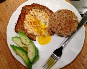 Healthier Egg in the Basket