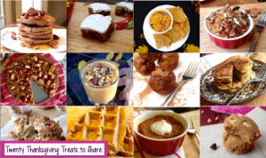 20 Thanksgiving Treats to Share (or not to share!)