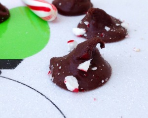 Dark Chocolate Peppermint Kisses