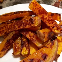 Cinnamon-Sugar Butternut Squash Fries