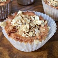 Vegan Cinnamon Swirl Muffins